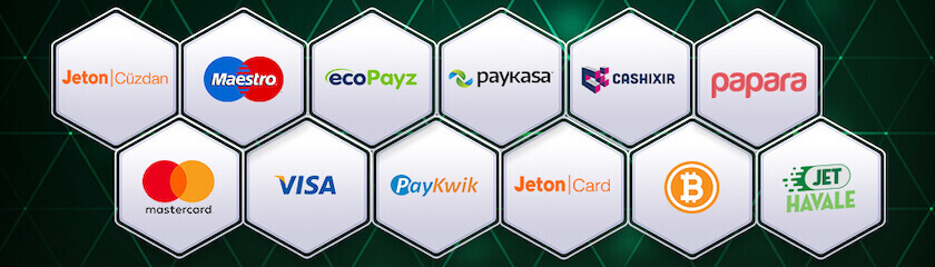 Casino siteleri ödeme yöntemleri